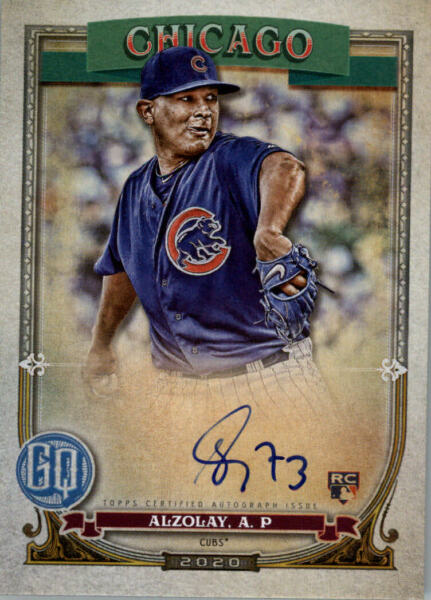 2020 Topps Gypsy Queen Baseball Part 3 Autograph-Parallel-Variation-Insert Cards