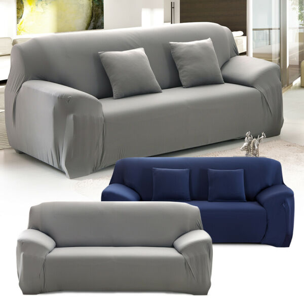 Sofa Cover 1 2 3 Seater Stretch Elastic Couch Cover Sofa Slipcovers Non Slip