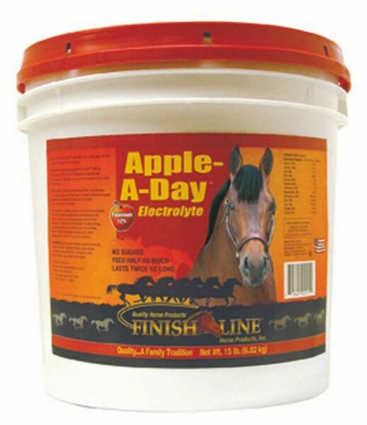 Finish Line Apple A Day Electrolyte 15 Lb Apple