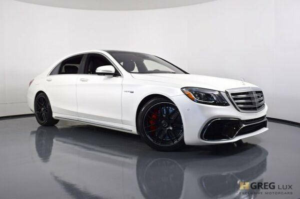 2020 Mercedes-Benz S-Class AMG S 63 2020 Mercedes-Benz S-Class AMG S 63 4dr Car Twin Turbo Premium Unleaded V-8 4.0