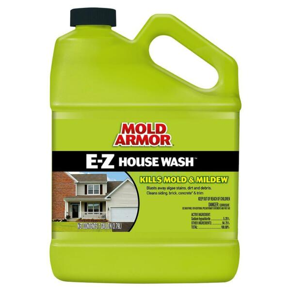 1 Gal. House & Siding Outdoor Cleaner Cleaning Mold Mildews Vinyl Brick Wood