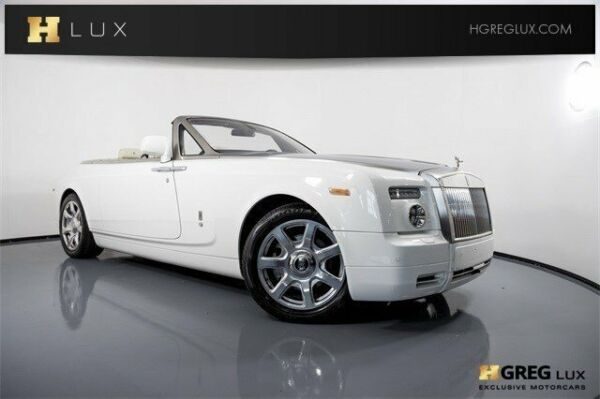 2011 Rolls-Royce Phantom  2011 Rolls-Royce Phantom Coupe  Convertible Gas V12 6.7L412 English White