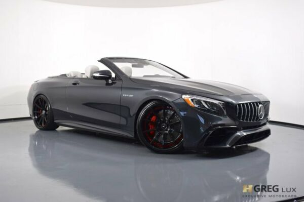 2020 Mercedes-Benz S-Class AMG S 63 2020 Mercedes-Benz S-Class AMG S 63 Convertible Twin Turbo Premium Unleaded V-8
