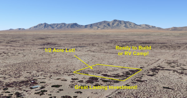 NO RESERVE!! 1/2 Acre of Land Deming, New Mexico. Ready to Build! INVEST TODAY!!