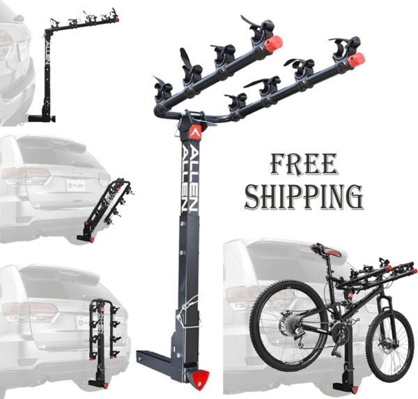 Allen Sports 4 Bike Hitch Racks for 2 in. Hitch Deluxe locking $160.99