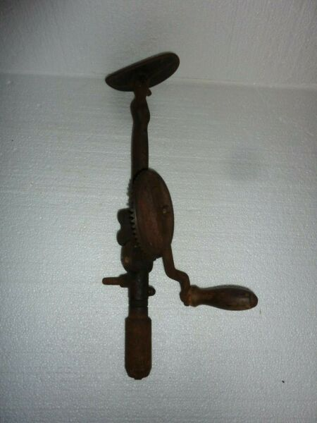 Antique Shoulder Brace Hand Drill