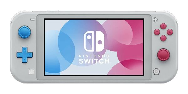 Nintendo Switch Lite Zacian and Zamazenta Limited Edition Console - Refurbished