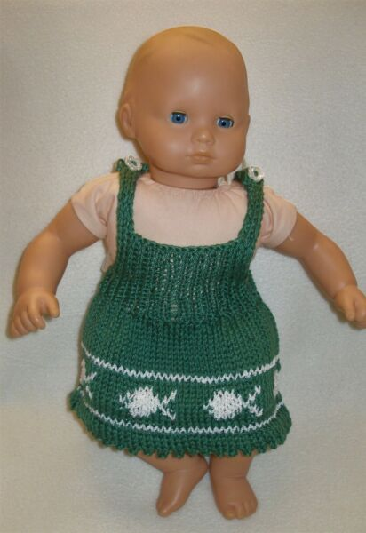 clothes for 15 in baby dolls hand knit summer dress