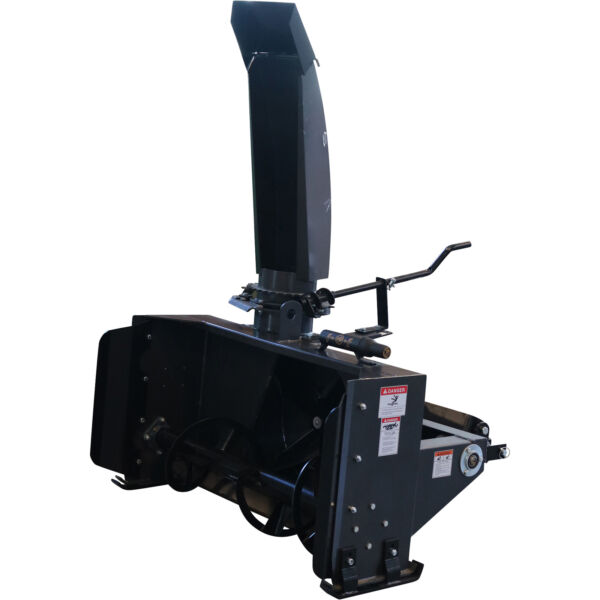 Braber 3-Pt. Snow Thrower-50inW Intake Fits Tractors up to 22 HP #SBS50G