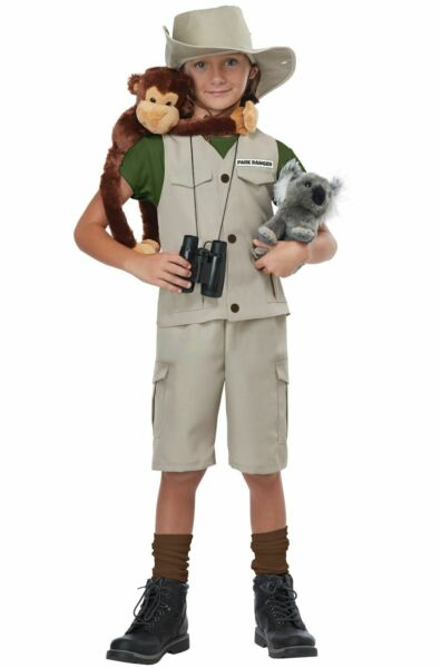 Wildlife Expert Archaeologist Child Costume Medium