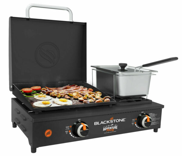 Large Portable Grill Tabletop Cooking StoveTop Burner Flat Top Camping Tailgate