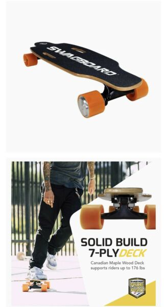 SWAGTRON SwagBoard NG-1 Youth Electric Longboard - Free Shipping