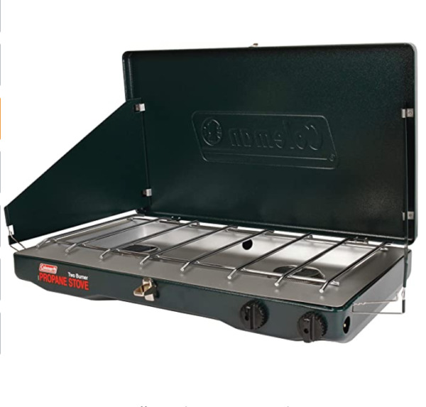 Coleman Gas Camping Stove Classic Propane Stove 2 Burner $55.99