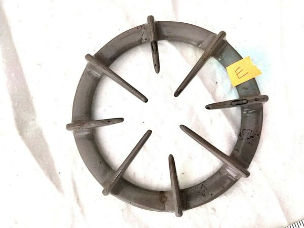 GE Profile GRAY grates WB31T10007 GAS RANGE Preowned