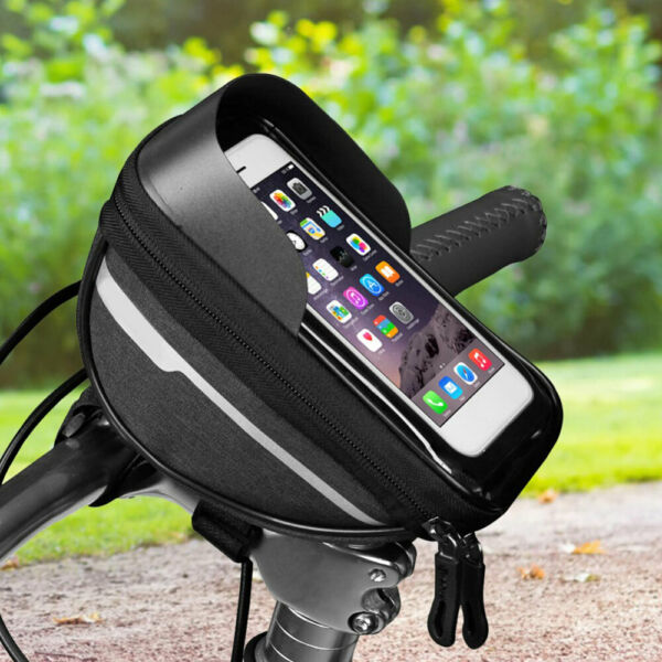 Waterproof Bicycle Bike Mount Phone Holder Case Bag Pouch Cover for Mobile Phone $9.99