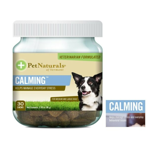 Dogs Calming Chews Dog Chew Anxiety Stress Relief $9.98