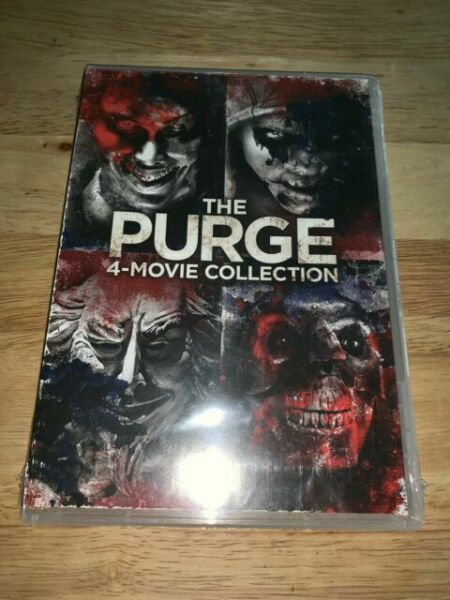 The Purge: 4 Movie Collection New DVD Ships Fast $19.24