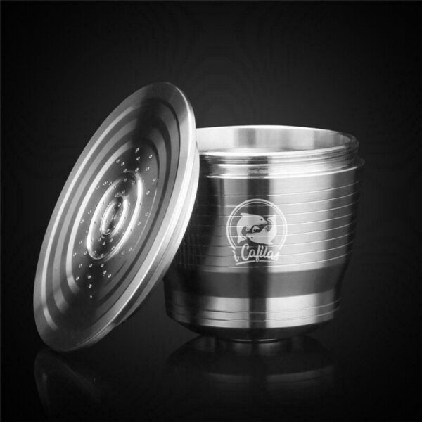 Stainless Steel Refillable Reusable Coffee Capsule Pods For Nespresso Machine