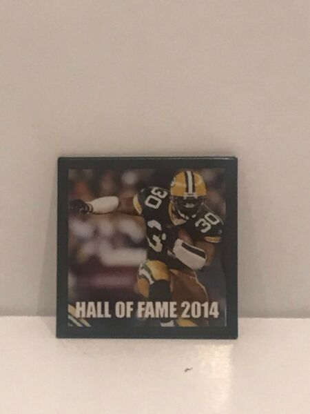 Ahman Green Packers Hall of Fame Class of 2014 Pin
