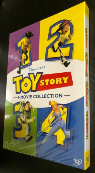 Toy Story 1 4 DVD 6 Disc Set 2019 4 Movie Collection Region 1 New amp; Sealed $14.35