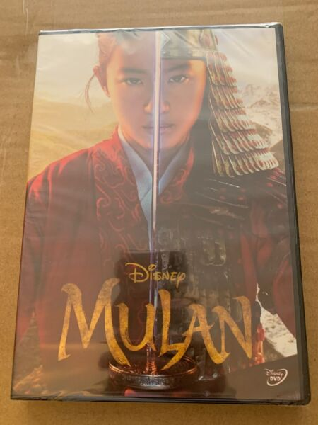 NEWEST Movie 2020 Mulan 1 Disc DVD Live Action Brand New amp; Sealed $11.99