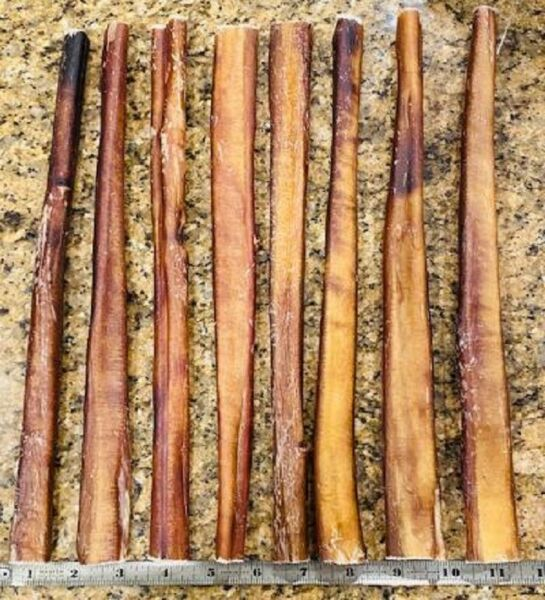 Bully Sticks THICK to JUMBO 12quot; All Natural USA Made Dog Chews Treats Dental $29.90