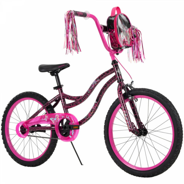 Huffy Kyro 20 inch Girls Bike for Kids Pink Black Crackle $106.40