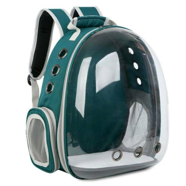 Portable Pet Carrier Backpack Space Capsule Travel Dog Cat Bag Transparent $25.99