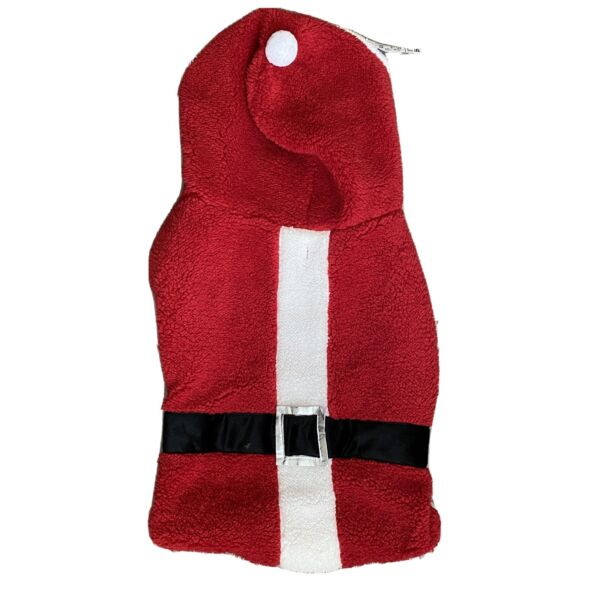 Christmas Dog ADORABLE Quality Pet Outfits Costumes Dogs Red Jacket $10.00