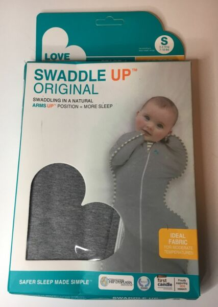 Love to Dream Swaddle up Original Gray Small Stage 1 Baby