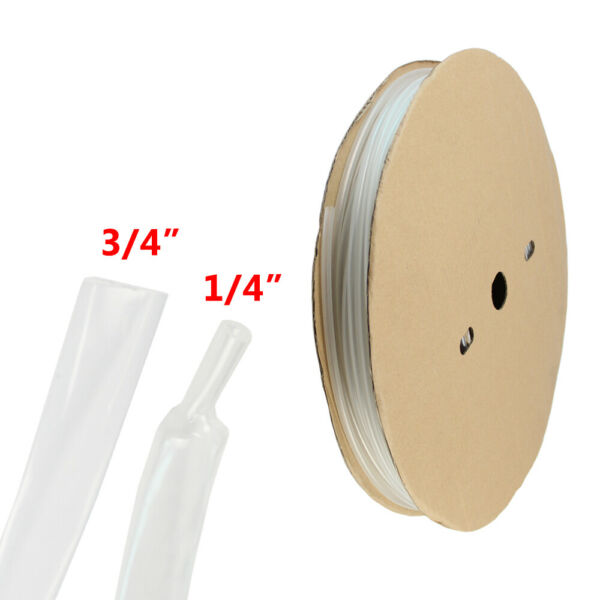 18ft 3 4quot; Heat Shrink Tubing Adhesive Glue Lined Tubes Marine Grade Wire Cable $19.99