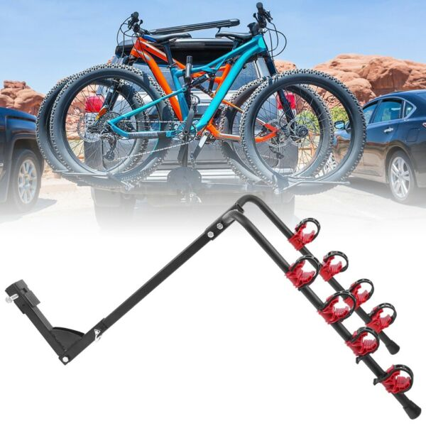 4 Bicycle Bike Rack 1 1 4quot; 2quot; Hitch Mount Carrier for Car Truck AUTO SUV Swing $49.99