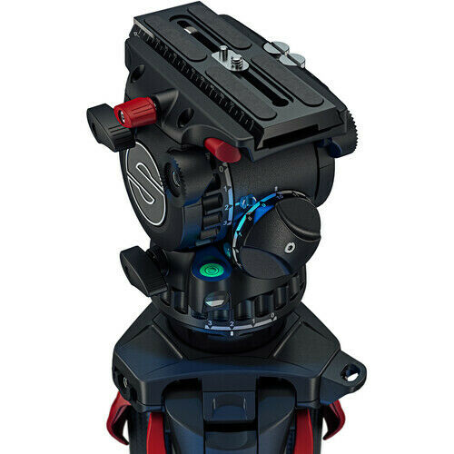 Sachtler aktiv6 Sideload Fluid Head with SpeedLevel amp; 3 Step Drag 75mm Preorder