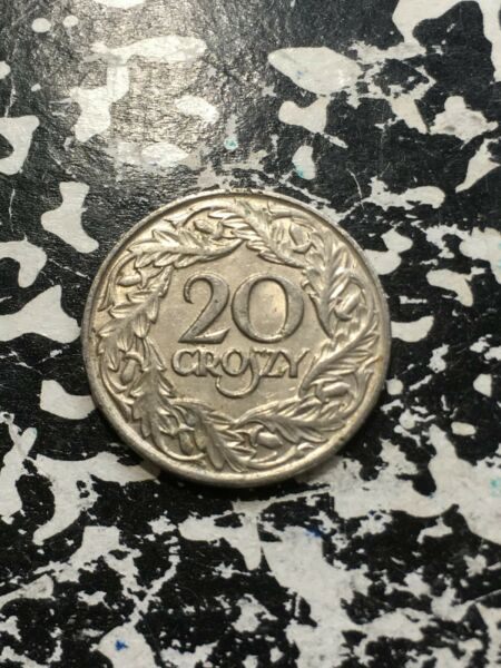 1923 Poland 20 Groszy 16 Available Circulated 1 Coin Only