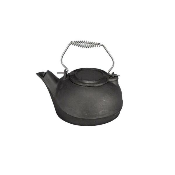 3 Qt. Capacity Kettle Steamer Cast Iron Construction Black Finish