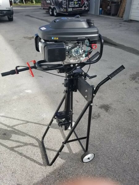7Hp 196cc 4 stroke Outboard Motor Air Cooled TomKing $600.00
