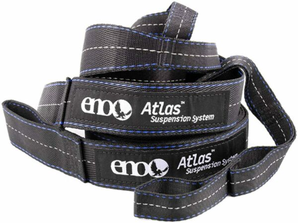 ENO Eagles Nest Outfitters Atlas Hammock Straps Suspension System Black Royal $24.95