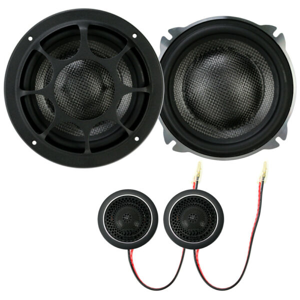 Morel Elate Carbon 52A Active 5 1 4quot; 2 Way Component Speakers NO CROSSOVERS $1579.00