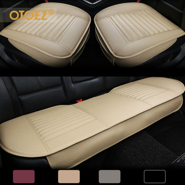 Leather Car Seat Cover Set Full Surround Universal For Auto Interior Accessories $44.99