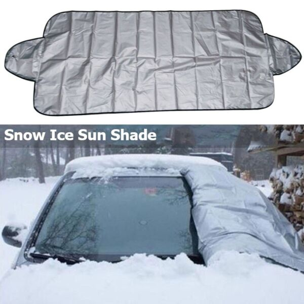 Windshield Cover Snow Ice For Car Frost Guard Winter Protector Auto US STOCK $6.99