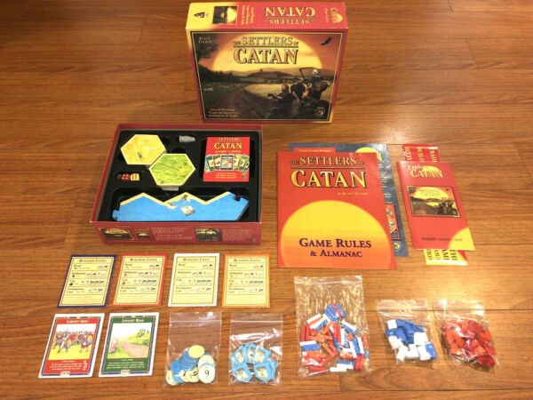 The Settlers of Catan Board Game Mayfair Games 3061 100% Complete