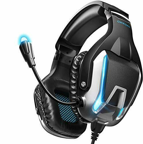 Gaming Headphones Bluetooth Best Wireless For PC Laptop PS4 XBox One Headset LED $2.00