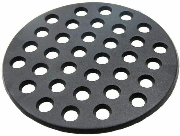 Cast Iron Fire Grate for Big Green Egg 9quot; Charcoal Fire Grate Fit for Large BGE