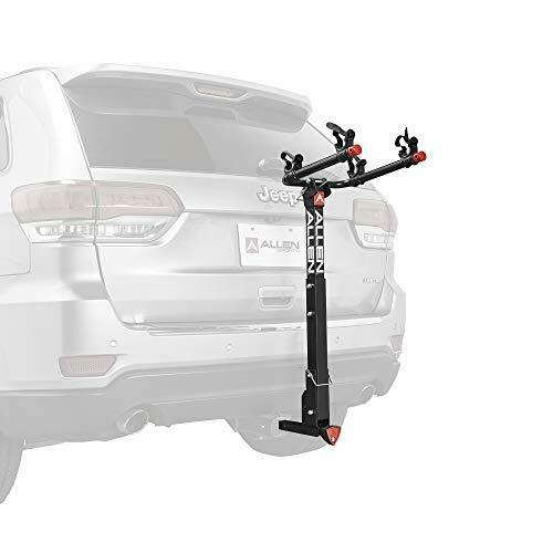 Allen Sports Deluxe Locking Quick Release 2 Bike Carrier for 2quot; amp; 1 4 in. Hitch $103.99