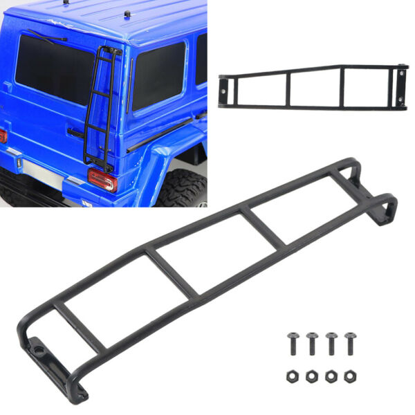 Metal Rear Ladder Stairs for TRAXXAS TRX 4 G500 1 10 Scale RC Rock Crawler Car