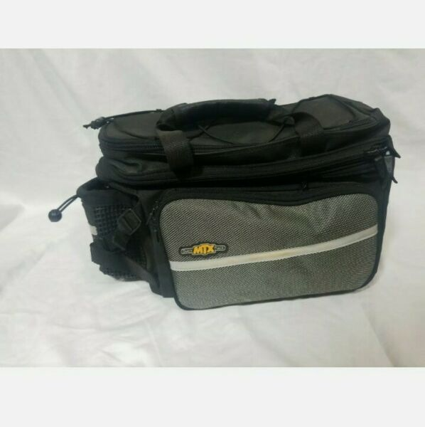 Topeak TT9616B MTX DX Trunk Bike Insulated Bag w panniers Quick Track $68.00