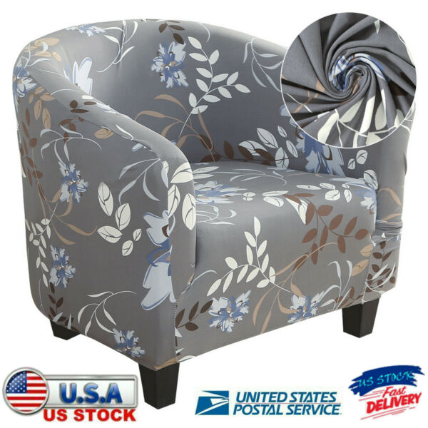 Home Club Chair Slipcover Couch Sofa Lounge Cover One Seater Single Sofa Cover $9.99