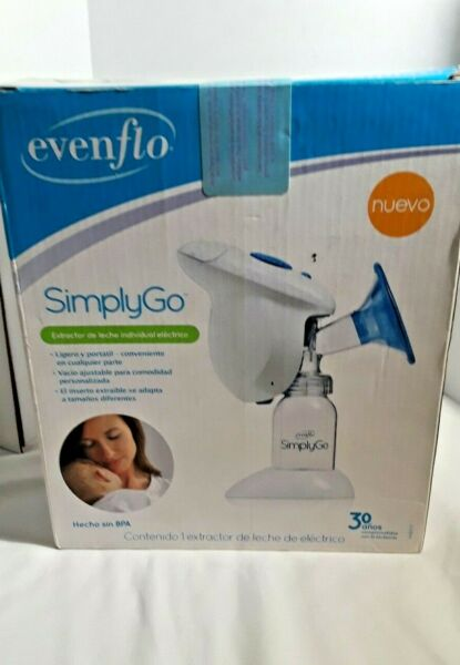 Evenflo SimplyGo Breast Pump Single Electric Lightweight Portable Breast Pump