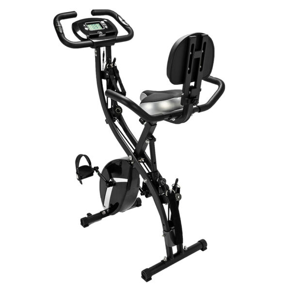 3 in 1 Folding Upright Bike for Indoor Exercise $199.99