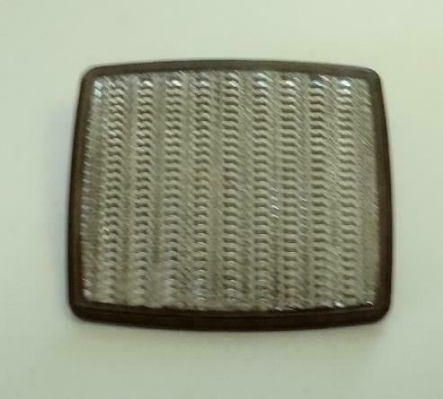 Vintage Schwinn Stingray Bicycle Square Front Clear Reflector $9.99